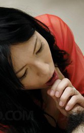 Yukari Asian has dark vagina fucked, fingered and gets cum in end