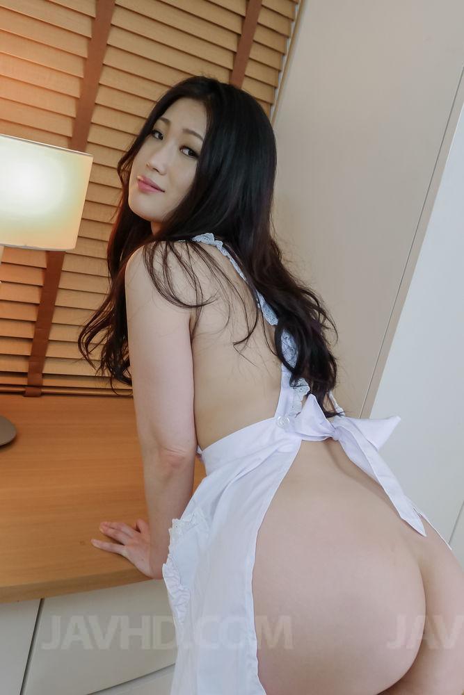 Akina hara sucks on several dicks in a series of sloppy oral 9